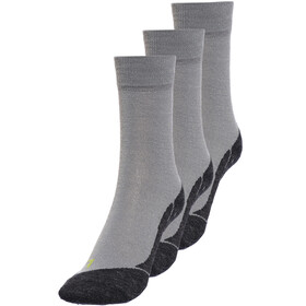 axant 73 Merino Socks Children 3 Pack grey